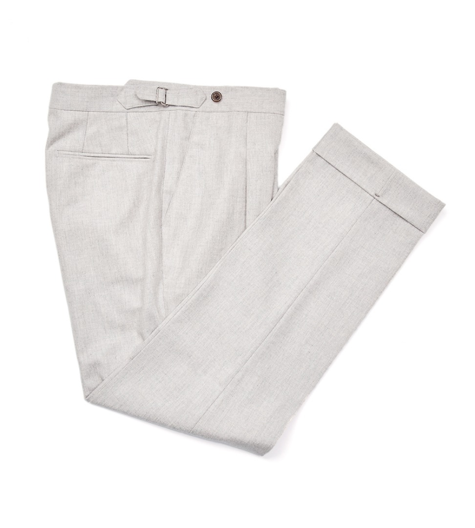 Canonico Flannel pants - oatmeal