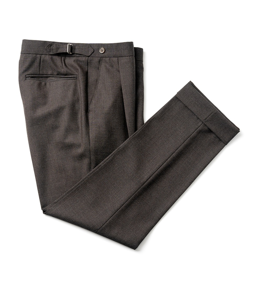Canonico fresco pants - Brown (4PLY)