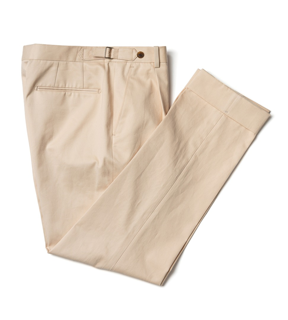 Harrisons cotton pants - beige