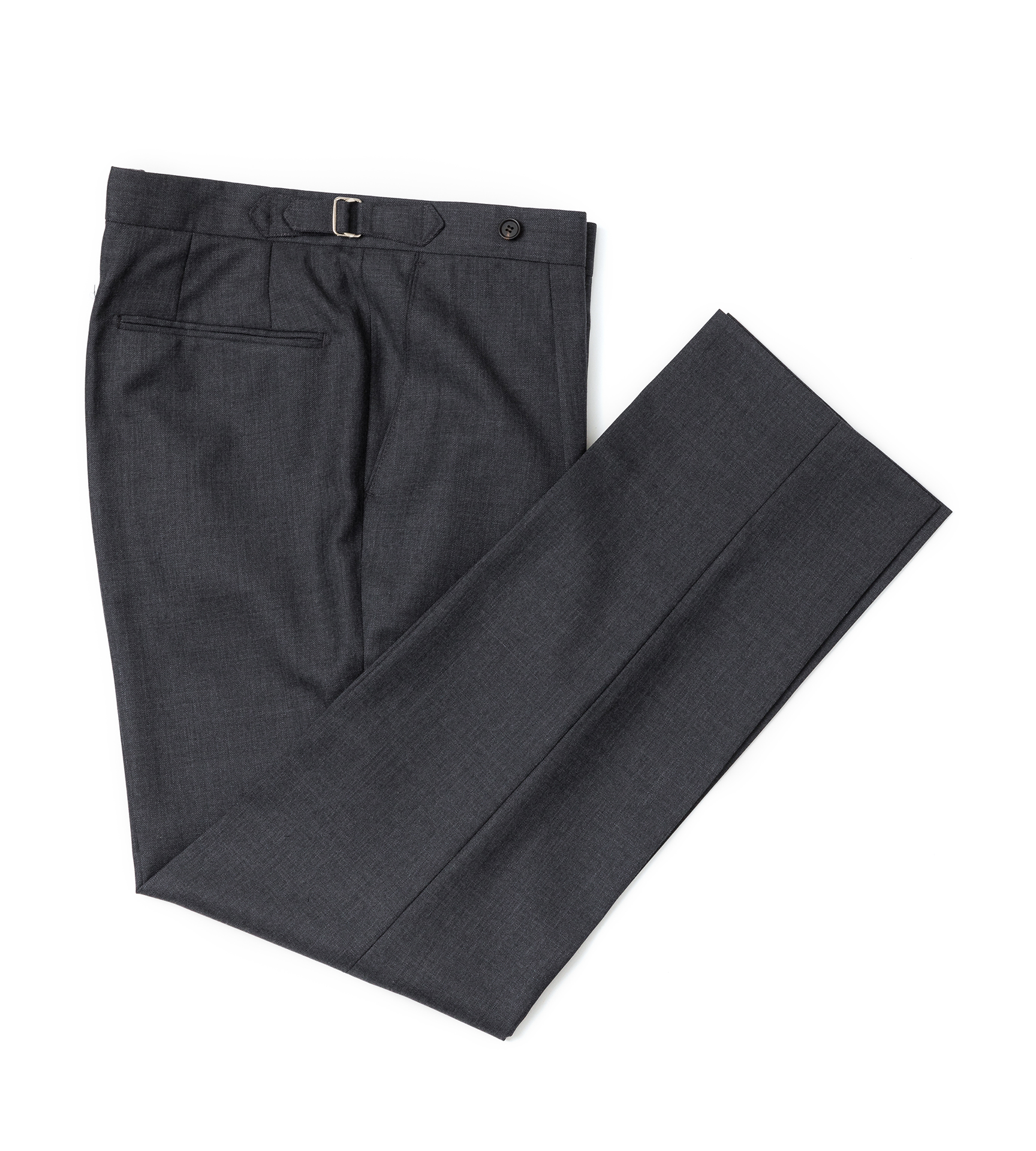 Barrington Wool pants - Charcoal gray (285G)