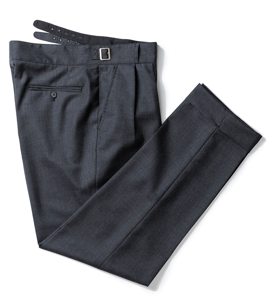Gurkha pants - Barrington Wool (Grey)