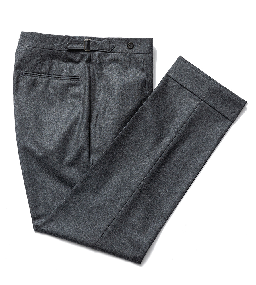 Canonico Flannel pants - grey